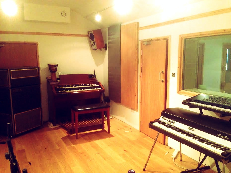 Cotton Mouth Studios Live Room 1 view 2- Live room 1