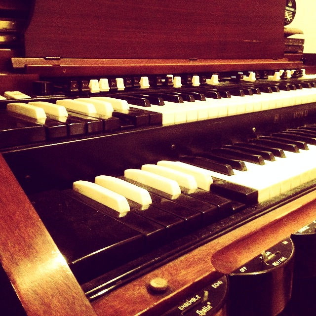Hammond C3 - Live room 1