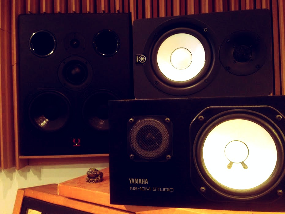 Recording Studio Monitors - Control room